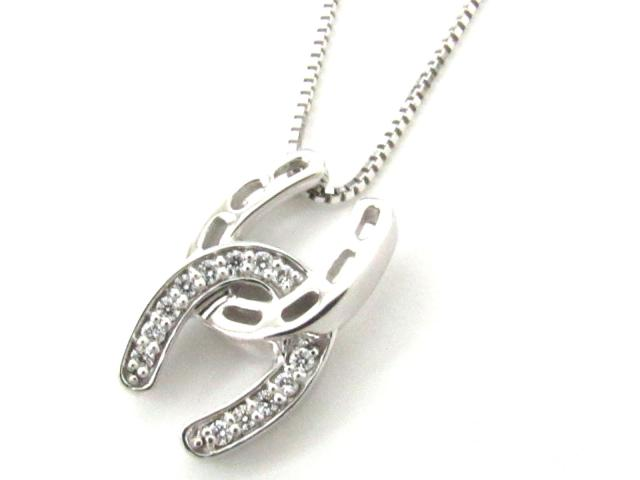 【中古】【送料無料】JEWELRY(ジュエリー) ダイヤモンド ネックレス ネックレス K18WG(750) ホワイトゴールド x ダイヤモンド(0.11ct) | JEWELRY ネックレス ダイヤ ダイヤモンドネックレス ネックレス K18 18K 18金 ブランドオフ BRANDOFF 美品 ボーナス