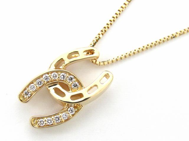 【中古】【送料無料】JEWELRY(ジュエリー) ダイヤモンド ネックレス ネックレス K18YG(750) イエローゴールド x ダイヤモンド0.11ct | JEWELRY ネックレス ダイヤ ダイヤモンドネックレス ネックレス K18 18K 18金 ブランドオフ BRANDOFF 美品 ボーナス