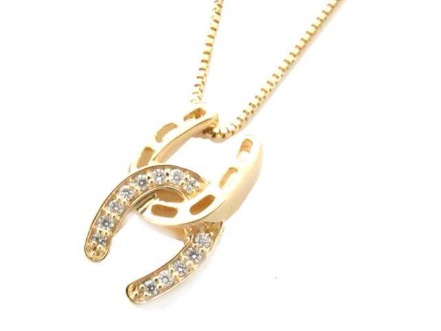 【中古】【送料無料】JEWELRY(ジュエリー) ダイヤモンド ネックレス ネックレス K18YG(750) イエローゴールド x ダイヤモンド(0.11ct) | JEWELRY ネックレス ダイヤ ダイヤモンドネックレス ネックレス K18 18K 18金 ブランドオフ BRANDOFF 美品 ボーナス