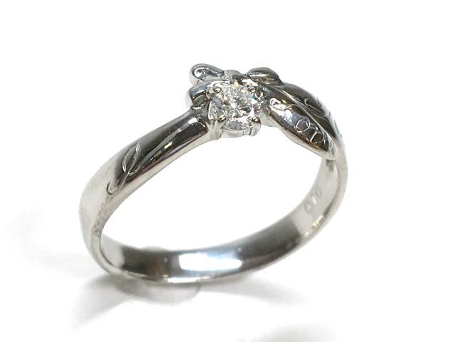 【中古】JEWELRY(ジュエリー) ダイヤモンド リング リング PT900 プラチナxダイヤモンド0.1ct 【ランクA】 12号 | JEWELRY リング リング PT900 0.1ct/3.8g/#11 ダイヤ ダイヤモンド ブランドオフ BRANDOFF 美品 ボーナス