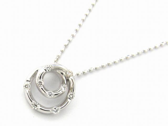 【送料無料】 JEWELRY(ジュエリー) ダイヤモンド ネックレス ネックレス K18WG(750) ホワイトゴールド x ダイヤモンド0.03ct 【新品】 | JEWELRY ネックレス K18 18K 18金 ダイヤ ダイヤモンド 新品 ブランドオフ BRANDOFF ボーナス