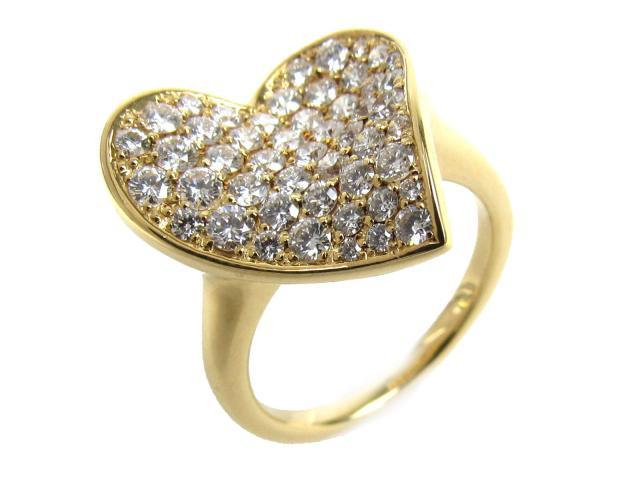 【中古】【送料無料】JEWELRY(ジュエリー) ダイヤモンド リング 指輪 リング クリアー K18YG(750) イエローゴールド x ダイヤモンド(1.13ct) 11.5号 | JEWELRY リング ダイヤ ダイヤモンドリング リング K18 18K 18金 ブランドオフ BRANDOFF 美品 ボーナス