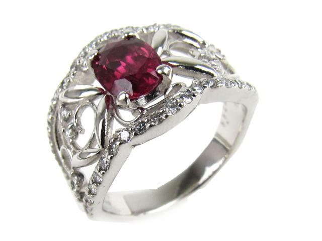 【中古】【送料無料】JEWELRY(ジュエリー) ルビー ダイヤモンド リング 指輪 リング レッド PT900 プラチナ x ルビー(1.122ct) x ダイヤモンド(0.40ct) 11.5号 | JEWELRY リング ダイヤ ダイヤモンドリング リング ブランドオフ BRANDOFF 美品 ボーナス