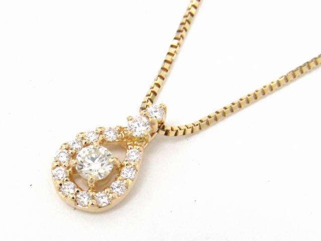 【送料無料】 JEWELRY(ジュエリー) ダイヤモンド ネックレス ネックレス K18YG(750) イエローゴールド x ダイヤモンド0.31ct 【新品】 | JEWELRY ネックレス K18 18K 18金 ダイヤ ダイヤモンド 新品 ブランドオフ BRANDOFF ボーナス