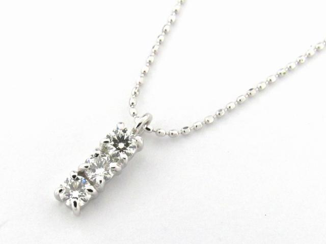 【送料無料】 JEWELRY(ジュエリー) ダイヤモンド ネックレス ネックレス K18WG(750) ホワイトゴールド x ダイヤモンド0.31ct 【新品】 | JEWELRY ネックレス K18 18K 18金 ダイヤ ダイヤモンド 新品 ブランドオフ BRANDOFF ボーナス