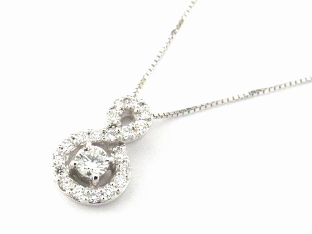 【送料無料】 JEWELRY(ジュエリー) ダイヤモンド ネックレス ネックレス K18WG(750) ホワイトゴールド x ダイヤモンド0.35ct 【新品】 | JEWELRY ネックレス K18 18K 18金 ダイヤ ダイヤモンド 新品 ブランドオフ BRANDOFF ボーナス