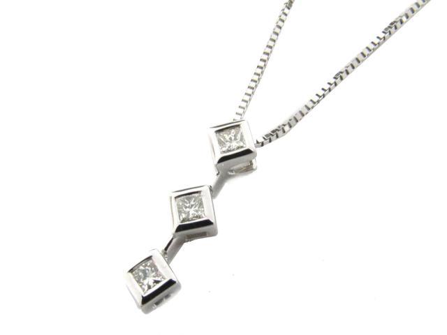 【送料無料】 JEWELRY(ジュエリー) ダイヤモンド ネックレス ネックレス K18WG(750) ホワイトゴールド x ダイヤモンド(0.25ct) 【新品】 | JEWELRY ネックレス K18 18K 18金 ダイヤ ダイヤモンド 新品 ブランドオフ BRANDOFF ボーナス