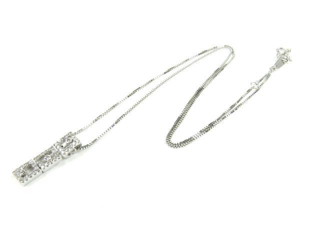 JEWELRY(ジュエリー)/ダイヤモンドネックレス/ネックレス/K18WG(750)ホワイトゴールドxダイヤモンド(0.30ct)/【新品】[BRANDOFF/ブランドオフ]【新品】