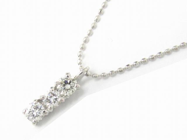 【送料無料】 ジュエリー ダイヤモンド ネックレス レディース K18WG(750) ホワイトゴールド x ダイヤモンド0.31ct   JEWELRY ネックレス K18 18K 18金 ダイヤ ダイヤモンド ブランドオフ BRANDOFF ボーナス