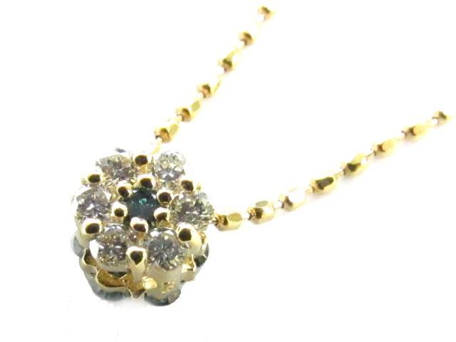 【送料無料】 ジュエリー ダイヤモンド ネックレス レディース K18YG(750) イエローゴールド x ダイヤモンド(0.02ct) | JEWELRY ネックレス K18 18K 18金 ダイヤ ダイヤモンド ブランドオフ BRANDOFF ボーナス