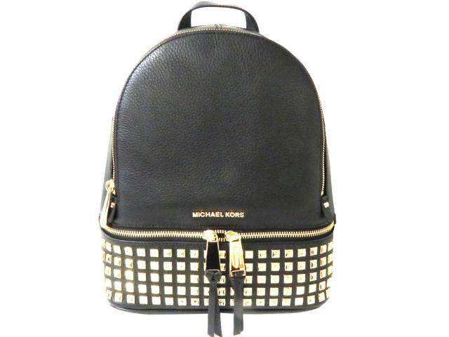 【送料無料】マイケルコース リュックサック レディース レザー BLACK(ブラック)ゴールド (30S5GEZB5L001) | MICHAEL KORS リュックサック バッグ バック BAG 鞄 カバン ブランドバッグ 新品 ブランド ブランドオフ BRANDOFF