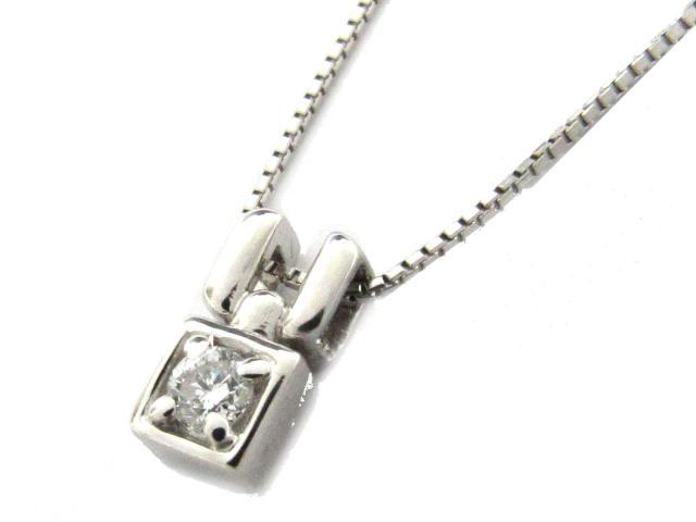 【送料無料】 ジュエリー ダイヤモンド ネックレス レディース PT900 プラチナ x PT850 プラチナ x ダイヤモンド(0.10ct) クリアー | JEWELRY ネックレス ダイヤ ダイヤモンド ブランドオフ BRANDOFF ボーナス