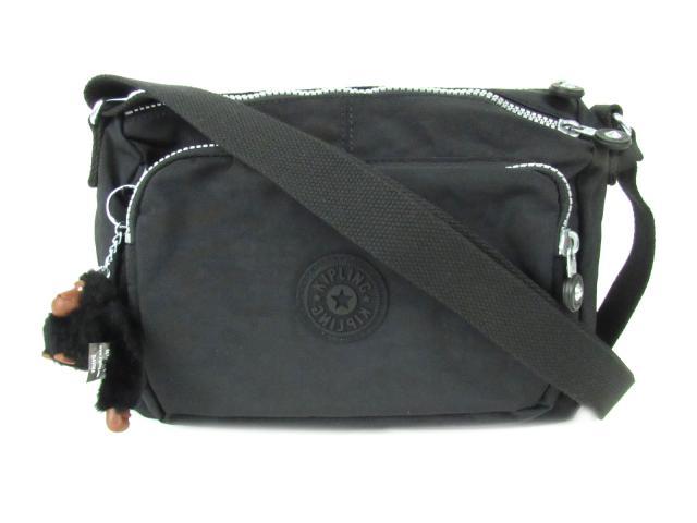 キプリング ショルダーバッグ レディース ナイロン ブラック (K12969900) | ブランドオフ BRANDOFF