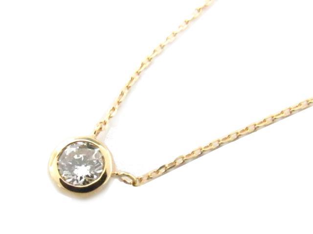 【送料無料】 ジュエリー ダイヤモンド ネックレス レディース K18YG(750) イエローゴールド x ダイヤモンド(0.17ct) | JEWELRY ネックレス K18 18K 18金 ダイヤ ダイヤモンド 新品 ブランドオフ BRANDOFF ボーナス