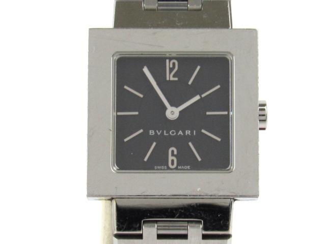 【中古】【送料無料】ブルガリ クアドラート 腕時計 ウォッチ レディース ステンレススチール(SS) (SQ22SS) | BVLGARI クオーツ WATCH 美品 ブランド ブランドオフ BRANDOFF