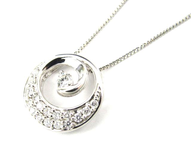 【送料無料】 ジュエリー ダイヤモンド ネックレス レディース PT900 プラチナ x PT850 プラチナ x ダイヤモンド(0.30ct)   JEWELRY ネックレス ダイヤ ダイヤモンド 新品 ブランドオフ BRANDOFF ボーナス