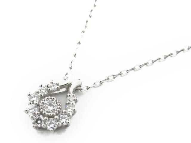 【送料無料】 ジュエリー ダイヤモンド ネックレス レディース PT900 プラチナ x PT850 プラチナ x ダイヤモンド0.30ct | JEWELRY ネックレス ダイヤ ダイヤモンド 新品 ブランドオフ BRANDOFF ボーナス