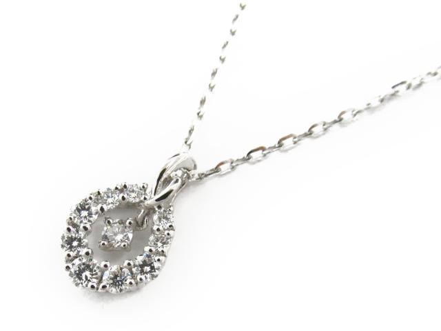 【送料無料】 ジュエリー ダイヤモンド ネックレス レディース PT900 プラチナ x ダイヤモンド0.3ct x PT850 プラチナ | JEWELRY ネックレス ダイヤ ダイヤモンド 新品 ブランドオフ BRANDOFF ボーナス