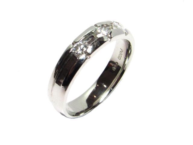 【中古】【送料無料】ジュエリー ダイヤモンドリング レディース PT900 プラチナ シルバー | JEWELRY リング リング ダイヤ ダイヤモンド 美品 ブランドオフ BRANDOFF 美品 ボーナス