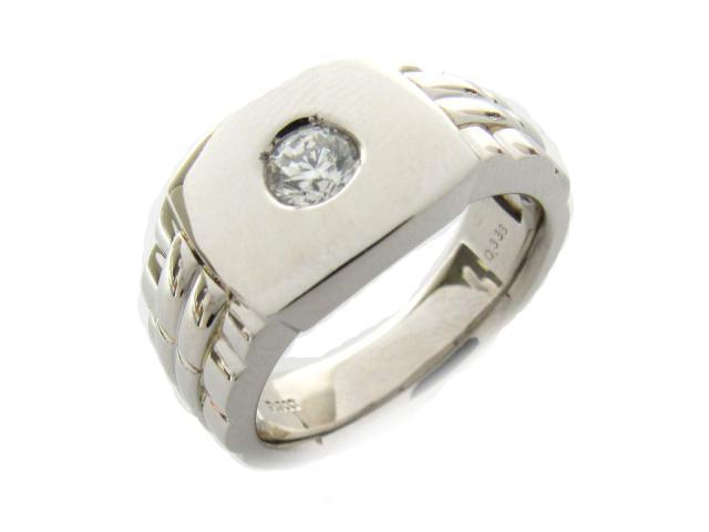 【中古】【送料無料】ジュエリー ダイヤモンド リング 指輪 レディース PT900 プラチナ x ダイヤモンド(0.338ct) | JEWELRY リング リング ダイヤ ダイヤモンド 美品 ブランドオフ BRANDOFF 美品 ボーナス