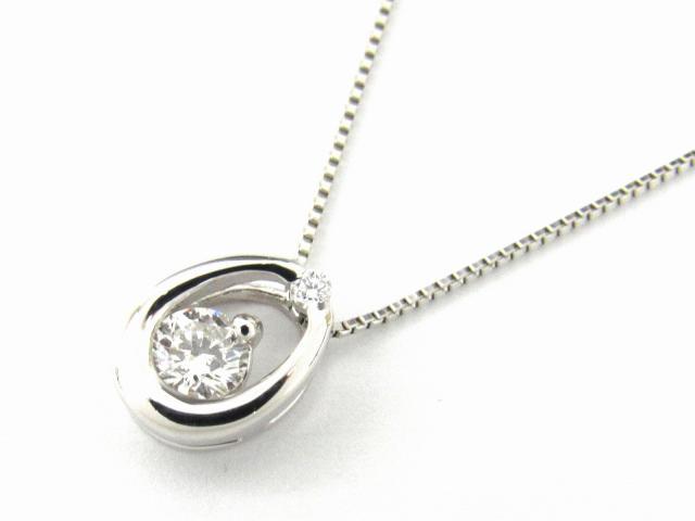 【送料無料】ジュエリー ダイヤモンド ネックレス レディース PT900 プラチナ x PT850 プラチナ x ダイヤモンド0.20ct | JEWELRY ネックレス ダイヤ ダイヤモンド 新品 ブランドオフ BRANDOFF ボーナス