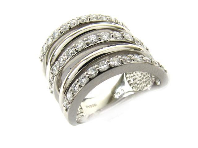 【中古】【送料無料】ジュエリー ダイヤモンド リング 指輪 レディース PT900 プラチナ x ダイヤモンド(1.000ct) | JEWELRY リング リング ダイヤ ダイヤモンド 美品 ブランドオフ BRANDOFF 美品 ボーナス
