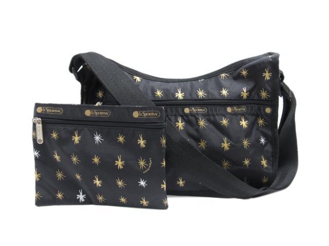 レスポートサック ショルダーバッグ レディース ナイロン ブラック (7520E020) | LESPORTSAC ショルダー 肩掛け バッグ バック BAG 鞄 カバン ブランドバッグ 新品 ブランド ブランドオフ BRANDOFF