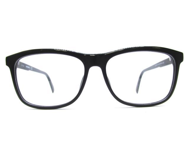 【中古】ディーゼル メガネフレーム 眼鏡 アイウェア レディース プラスチック ブラック (DL5183-F)   DIESEL メガネ メガネ 美品 ブランド ブランドオフ BRANDOFF