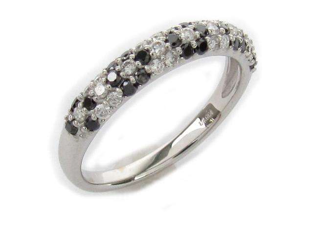 【中古】【送料無料】ジュエリー リング 指輪 ダイヤモンド レディース K18WG(750) ホワイトゴールド x ダイヤモンド0.51ct (ダイヤ 2.5g) | JEWELRY リング リング K18 18K 18金 ダイヤ ダイヤモンド 美品 ブランドオフ BRANDOFF 美品 ボーナス
