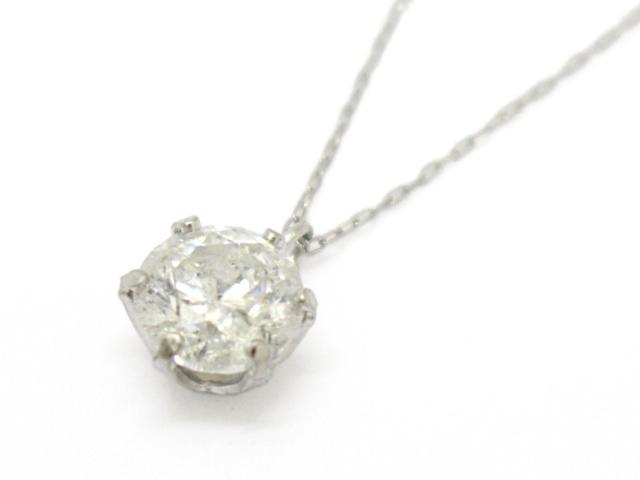 【中古】【送料無料】ジュエリー ダイヤモンド ネックレス レディース PT1000(プラチナ)×ダイヤモンド(0.95ct)   JEWELRY ネックレス ダイヤ ダイヤモンド 美品 ブランドオフ BRANDOFF 美品 ボーナス