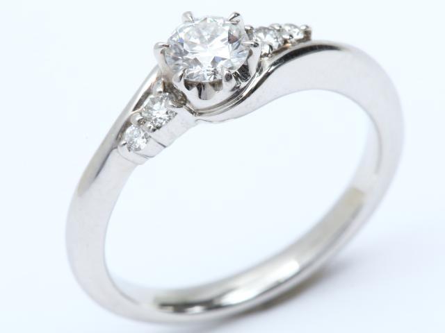 【中古】【送料無料】スタージュエリー ダイヤモンド リング 指輪 レディース PT950 プラチナ x ダイヤモンド   STAR JEWELRY リング ダイヤリング 4.8g ブランド ダイヤ ダイヤモンド 美品 ブランドオフ BRANDOFF 美品 ボーナス