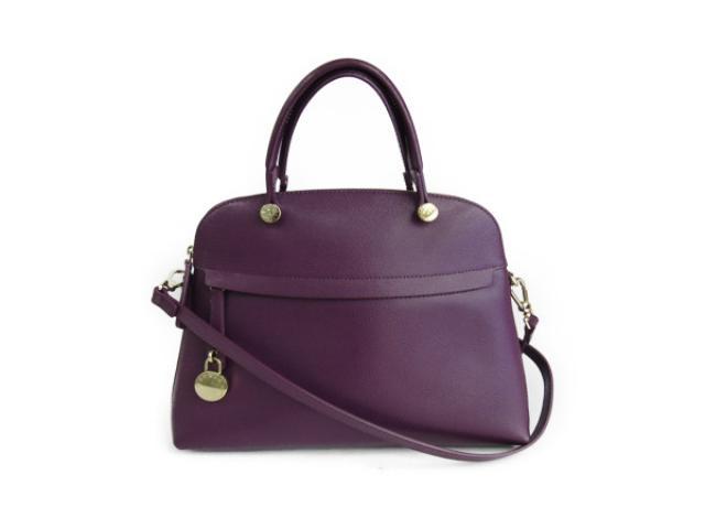 【中古】フルラ 2wayハンドバッグ レディース レザー ダークチェリー | FURLA ハンドバッグ バッグ バック BAG 鞄 カバン ブランドバッグ 美品 ブランド ブランドオフ BRANDOFF