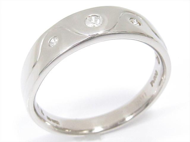 【中古】【送料無料】ジュエリー ダイヤモンドリング 指輪 レディース PT900 プラチナxダイヤモンド(0.11ct) | JEWELRY リング リング ダイヤ ダイヤモンド 美品 ブランドオフ BRANDOFF 美品 ボーナス