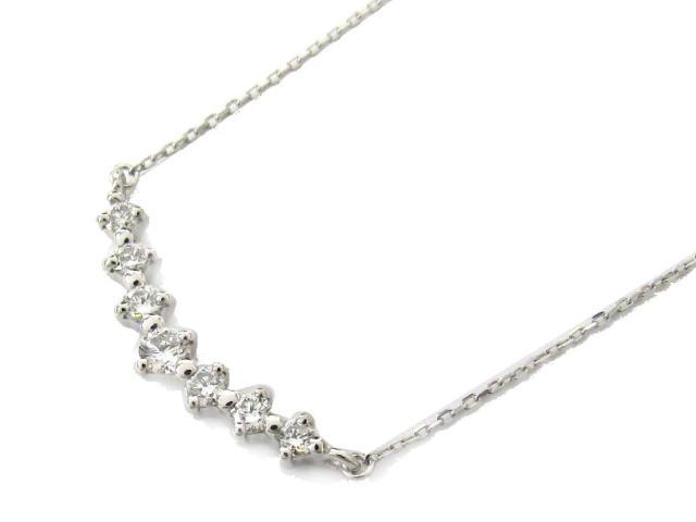 【送料無料】ジュエリー ダイヤモンド ネックレス レディース PT900 プラチナ x PT850 プラチナ x ダイヤモンド(0.30ct) | JEWELRY ネックレス ダイヤ ダイヤモンド 新品 ブランドオフ BRANDOFF ボーナス