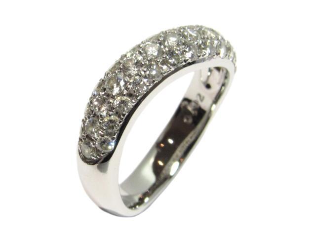 【中古】【送料無料】ジュエリー ダイヤモンド リング 指輪 レディース PT900 プラチナ×ダイヤモンド0.92ct クリアー×シルバー | JEWELRY リング リング ダイヤ ダイヤモンド 美品 ブランドオフ BRANDOFF 美品 ボーナス