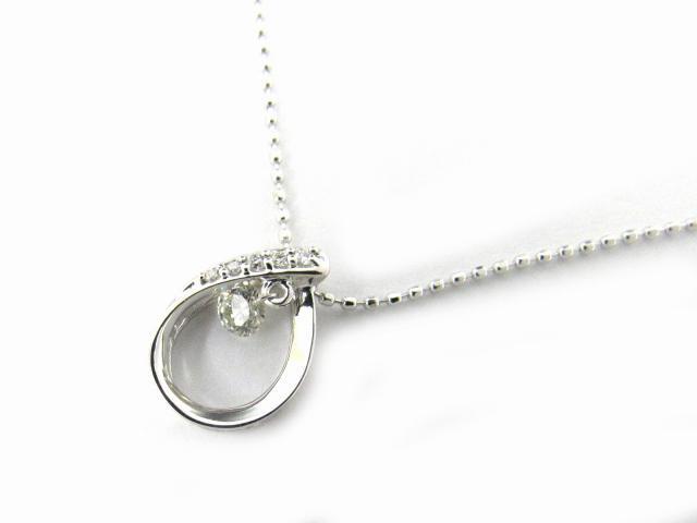 【送料無料】ジュエリー ダイヤモンド ネックレス レディース K18WG(750) ホワイトゴールド x ダイヤモンド0.15ct | JEWELRY ネックレス K18 18K 18金 ダイヤ ダイヤモンド 新品 ブランドオフ BRANDOFF ボーナス