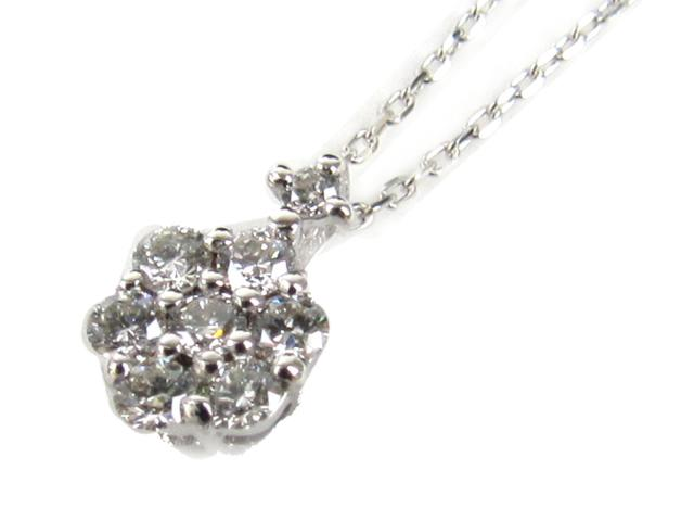 【送料無料】ジュエリー ダイヤモンド ネックレス レディース K18WG(750) ホワイトゴールド x ダイヤモンド(石目無し) | JEWELRY ネックレス K18 18K 18金 ダイヤ ダイヤモンド 新品 ブランドオフ BRANDOFF ボーナス