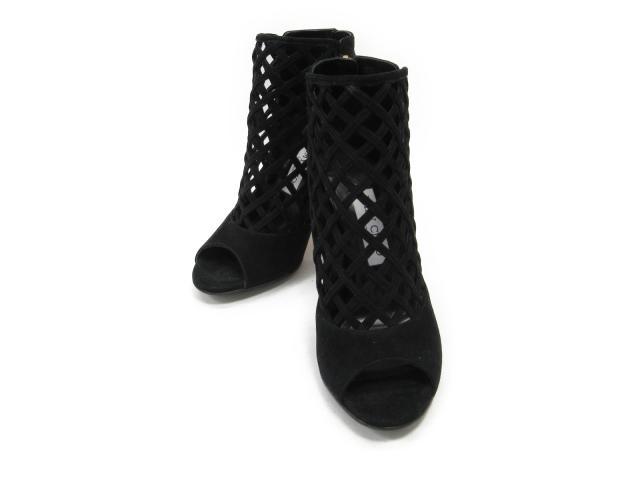 【中古】ジミーチュウ サンダル レディース スエード ブラック | JIMMY CHOO くつ 靴 美品 ブランド ブランドオフ BRANDOFF