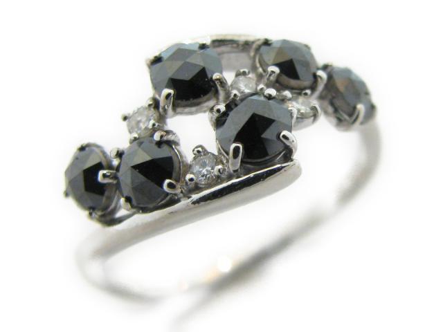 【中古】ジュエリー スピネルリング レディース K18WG(750) ホワイトゴールド×スピネル1.00ct×ダイヤモンド0.07ct | JEWELRY リング リング K18 18K 18金 ダイヤ ダイヤモンド 美品 ブランドオフ BRANDOFF 美品 ボーナス
