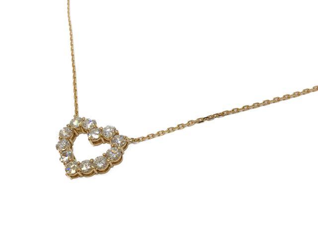 【中古】【送料無料】ジュエリー ネックレス ダイヤモンド レディース K18PG(750) ピンクゴールドダイヤモンド(D2.818ct) ゴールド | JEWELRY ネックレス アクセサリー  K18 18K ブランドオフ BRANDOFF ボーナス