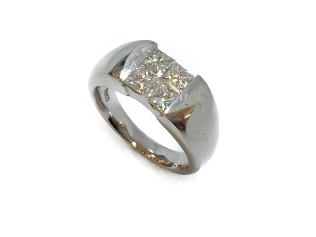 【中古】【送料無料】ジュエリー リング 指輪 ダイヤ プラチナ PT900 プラチナ× ダイヤ(1.00ct) シルバー | JEWELRY リング リング メンズ レディース ダイヤ ダイヤモンド 美品 ブランドオフ BRANDOFF 美品 ボーナス