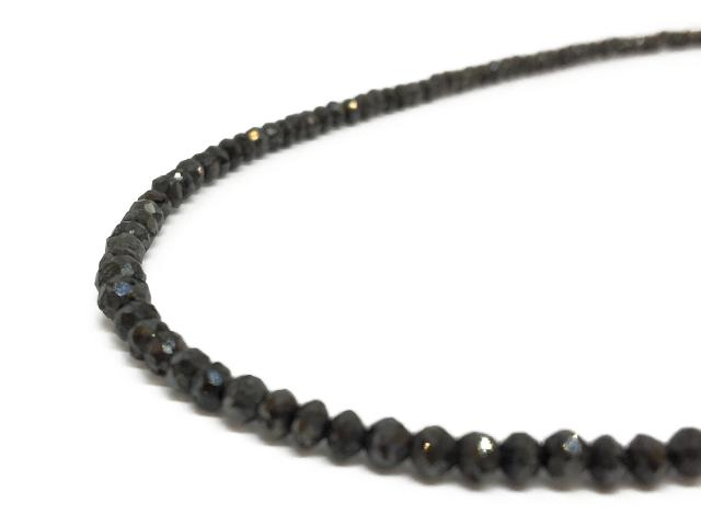 【中古】【送料無料】ジュエリー ネックレス ブラックダイヤ ダイヤ ユニセックス K18WG(750) ホワイトゴールドブラックダイヤ(D30.00ct) ブラック | JEWELRY ネックレス アクセサリー メンズ レディース K18 18K ブランドオフ BRANDOFF 美品 ボーナス