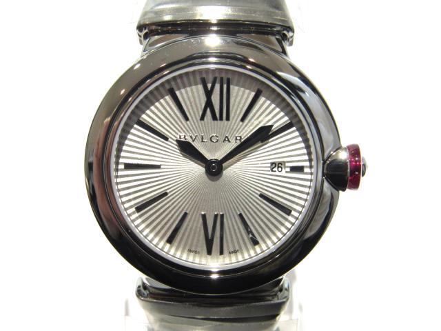 【中古】【送料無料】ブルガリ SSルチェア 腕時計 ウォッチ レディース ステンレススチール(SS) シルバー (LU28S) | BVLGARI クオーツ WATCH 美品 ブランド ブランドオフ BRANDOFF