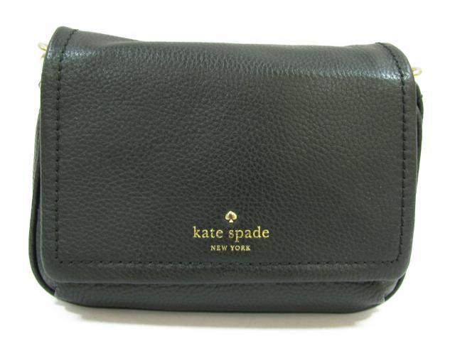 ケイトスペード ショルダーバッグ レディース 牛革(カーフ) ブラック (P x RU7533001) | kate spade ショルダー 肩掛け バッグ バック BAG 鞄 カバン ブランドバッグ 新品 ブランド ブランドオフ BRANDOFF