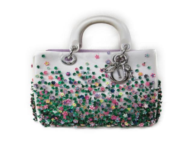 【中古】【送料無料】クリスチャン・ディオール レディディオール 2wayハンドバッグ レディース レザー アイボリー | Dior ハンドバッグ バッグ バック BAG 鞄 カバン ブランドバッグ ブランド ブランドオフ BRANDOFF