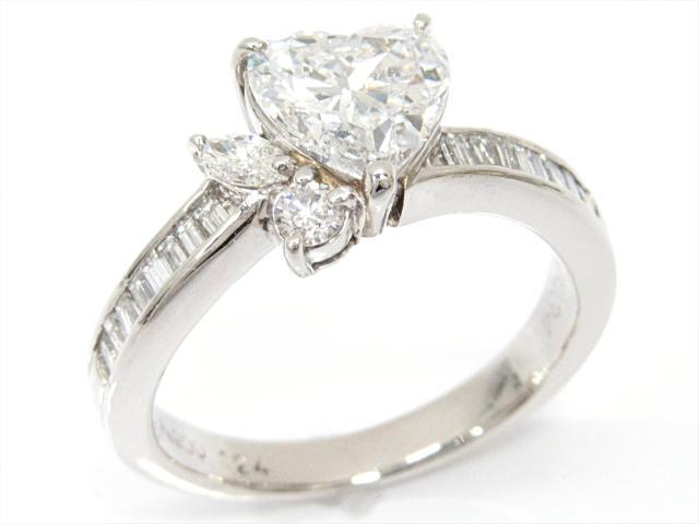 【中古】【送料無料】ジュエリー ダイヤモンドリング 指輪 レディース PT900 プラチナxダイヤモンド(1.24/0.34ct) | JEWELRY リング リング ダイヤ ダイヤモンド 美品 ブランドオフ BRANDOFF 美品 ボーナス