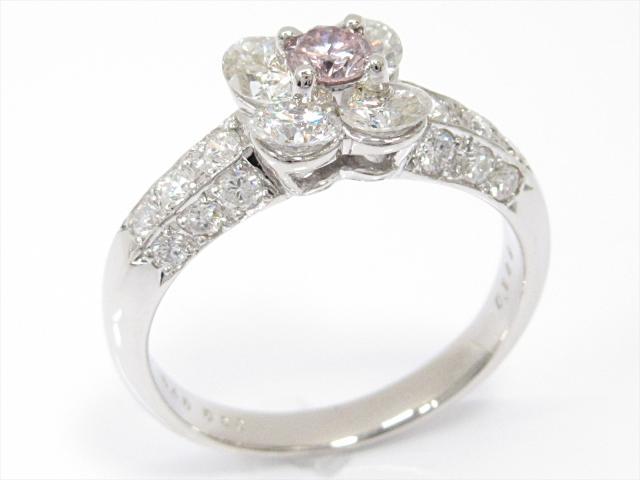 【中古】【送料無料】ジュエリー ダイヤモンドリング 指輪 レディース PT900 プラチナxダイヤモンド(0.189/0.83/0.40ct) | JEWELRY リング リング ダイヤ ダイヤモンド 美品 ブランドオフ BRANDOFF 美品 ボーナス