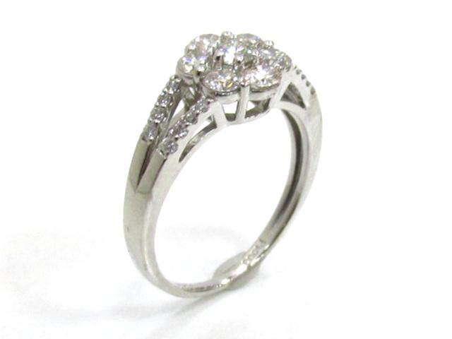【中古】【送料無料】ジュエリー ダイヤモンドリング 指輪 レディース PT900 プラチナ×ダイヤモンド(1.00ct) | JEWELRY リング リング PT900 1.00ct ダイヤ ダイヤモンド 美品 ブランドオフ BRANDOFF 美品 ボーナス