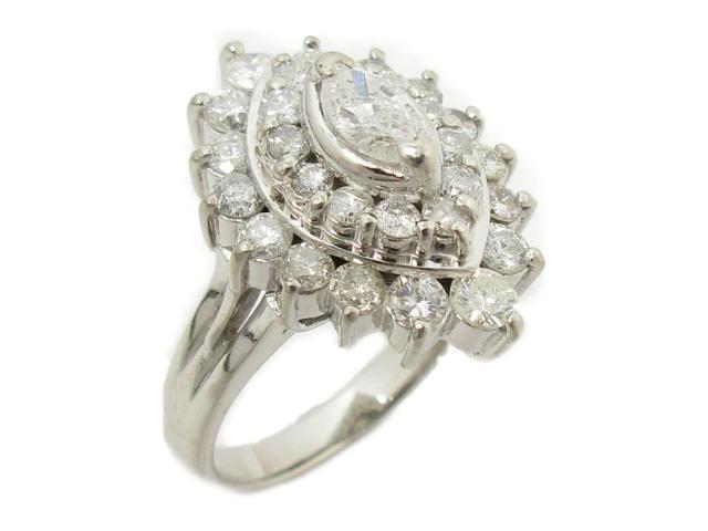 【中古】【送料無料】ジュエリー ダイヤモンド リング 指輪 レディース PT900 プラチナxダイヤモンド(1.53ct) | JEWELRY リング リング ダイヤ ダイヤモンド 美品 ブランドオフ BRANDOFF 美品 ボーナス