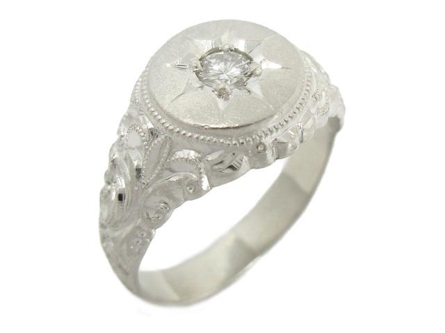 【中古】【送料無料】ジュエリー ダイヤモンドリング 指輪 レディース PT900 プラチナ×ダイヤモンド(0.2ct) | JEWELRY リング ダイヤ ダイヤモンド ダイヤリング 11.6g 美品 ブランドオフ BRANDOFF 美品 ボーナス